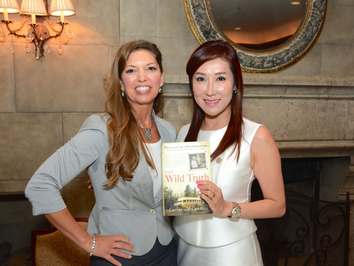 Women's Home Luncheon 2015 Carine McCandless, Mandy Kao