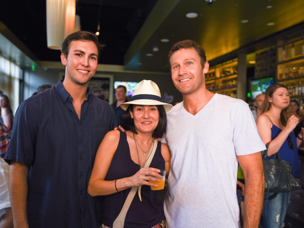News, Shelby, Curry Crawl , June 2015, Matt Vanderver and Amy and Adam Johnston