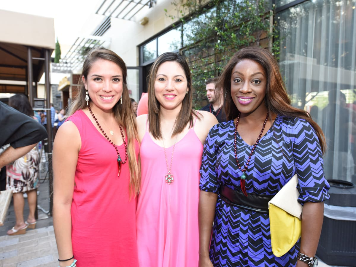 News, Shelby, Curry Crawl, June 2015, Anna Beltran, Anyoleth Sanchez and Margaret Howard
