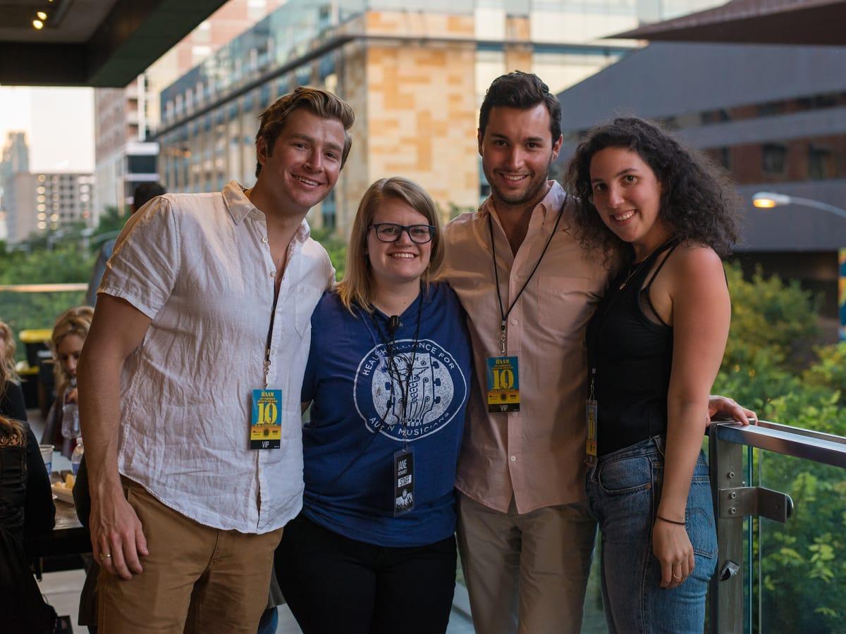 HAAM Corporate Battle of the Bands 2017 Chase Calvert Jane McMurrey Robert Alvarez