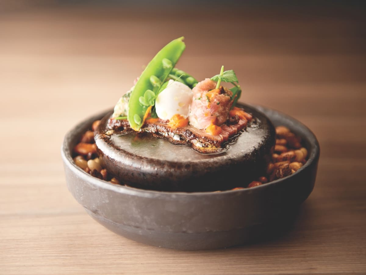 The Pass lamb belly