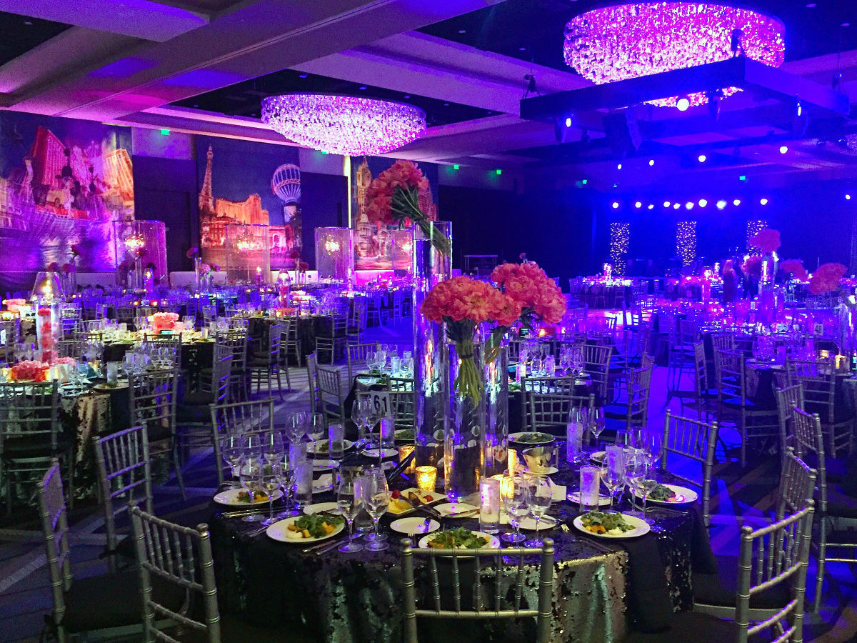 Houston, Houston Symphony Ball, May 2017, decor