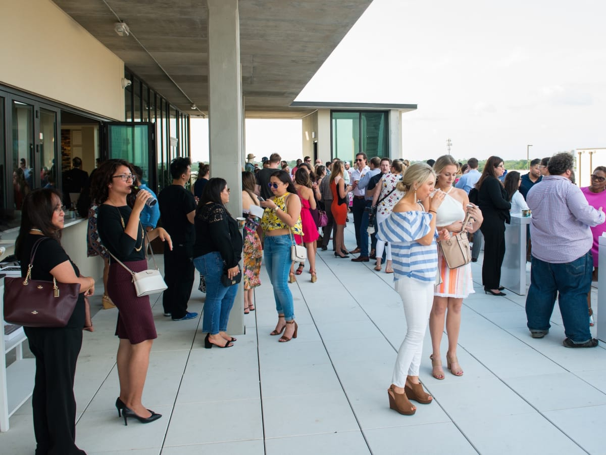 CultureMap Summer Social at Marq 31 roof-top sky lounge