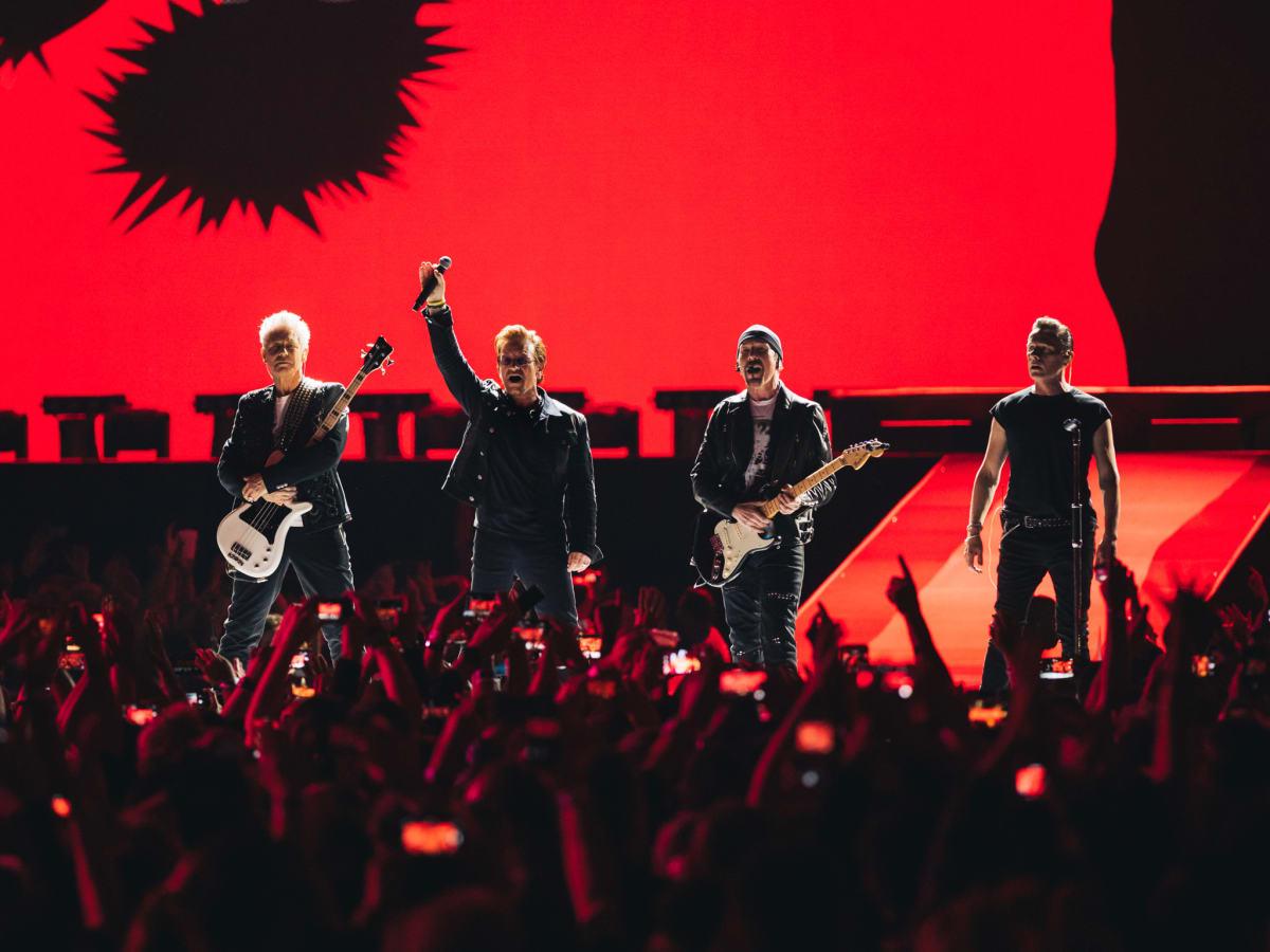 U2 The Joshua Tree 30th anniversary tour