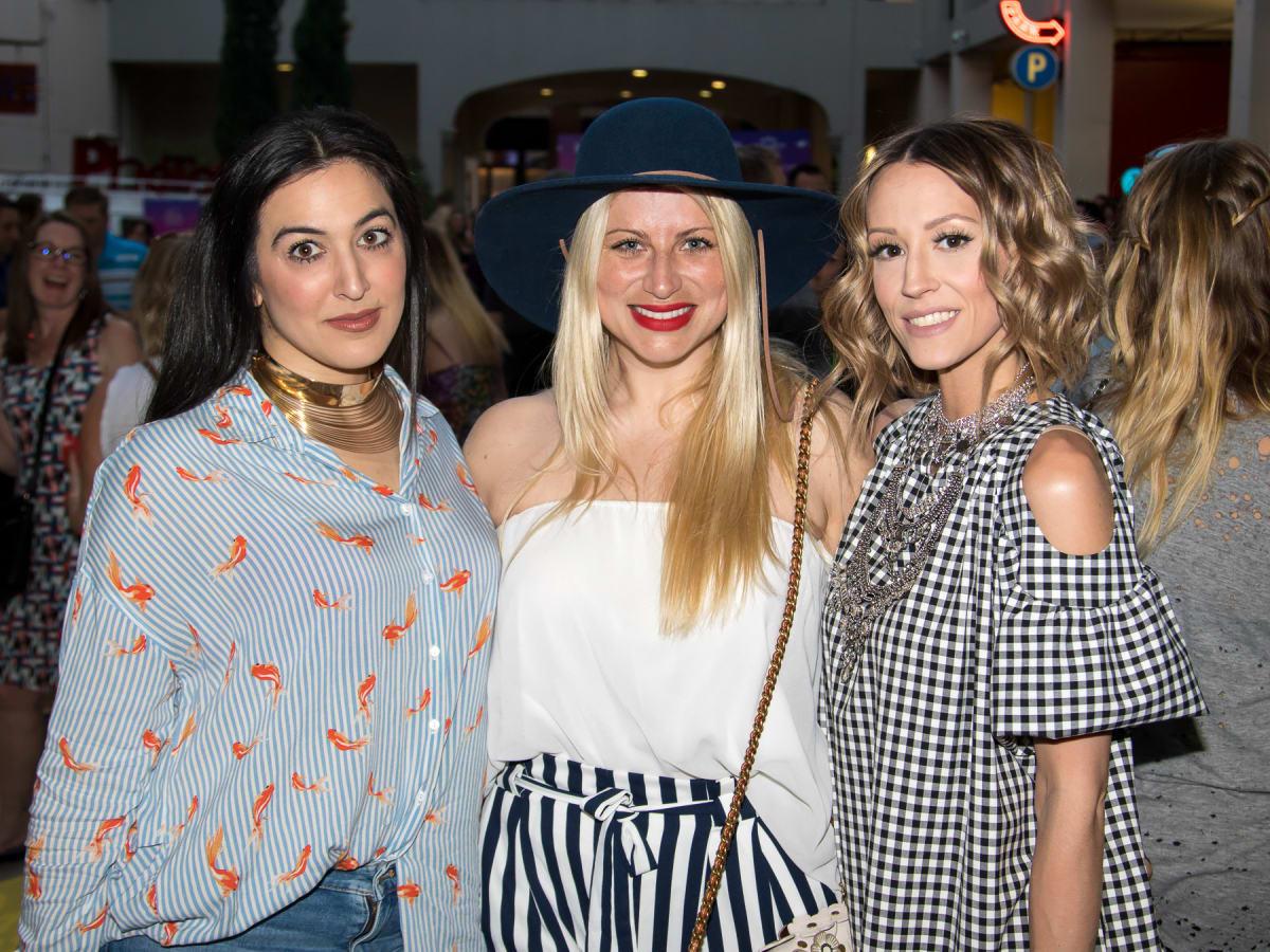 Anna Agisilaou, Camille Jeffries, Olivia Barr