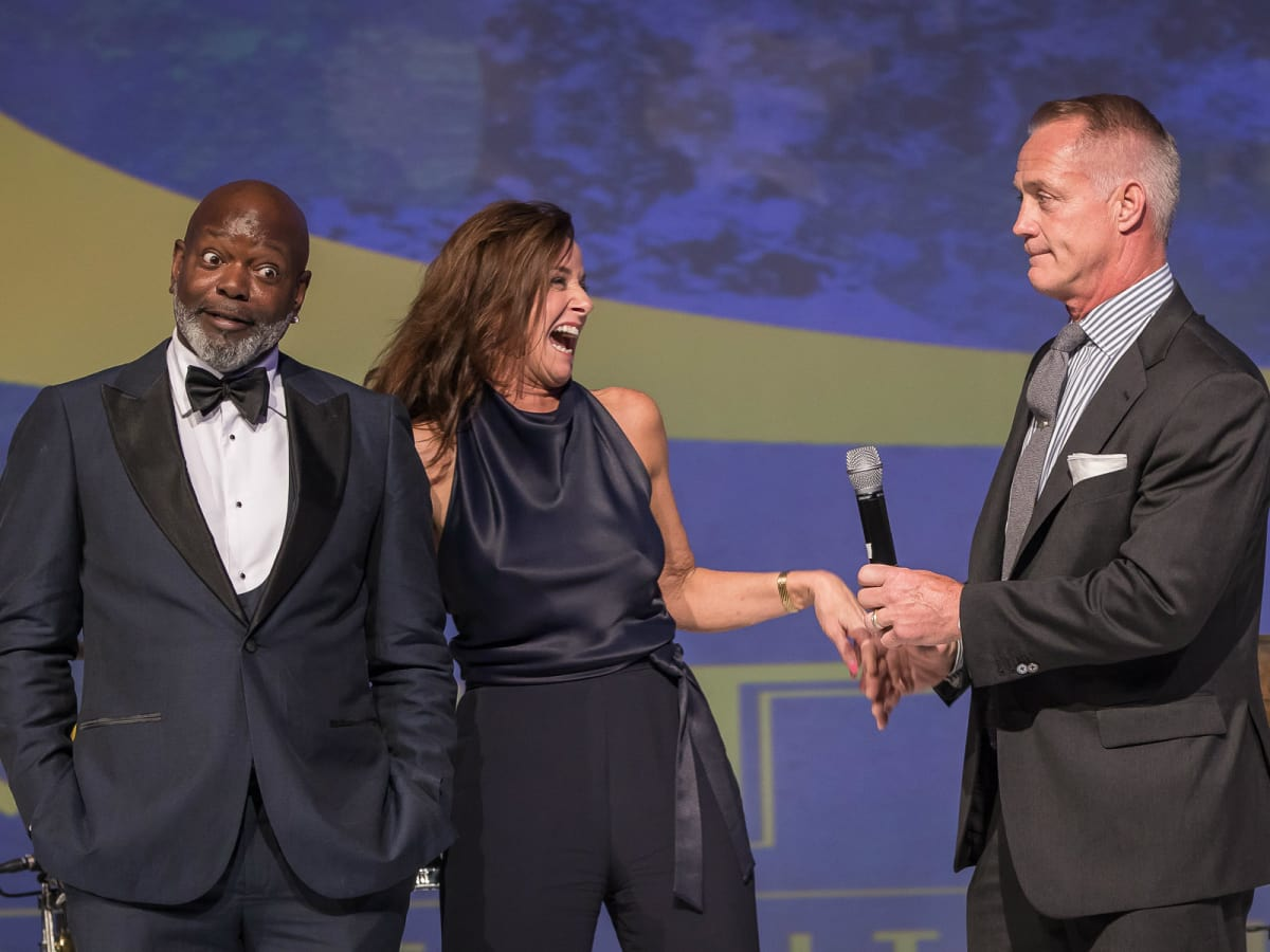 Emmitt Smith, Dee Lincoln, Daryl Johnston