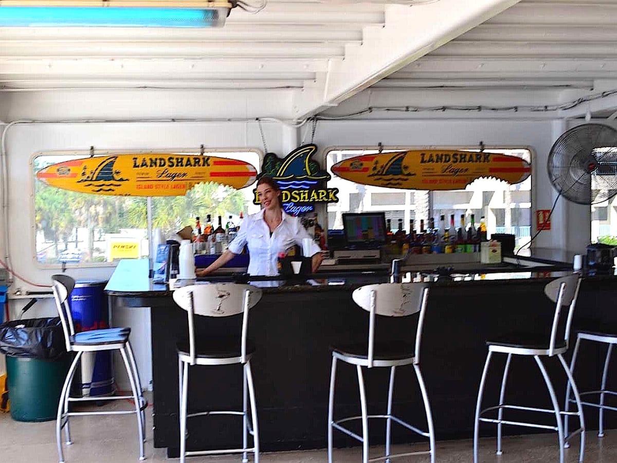 Jacks or Better gambling boat casino third deck bar