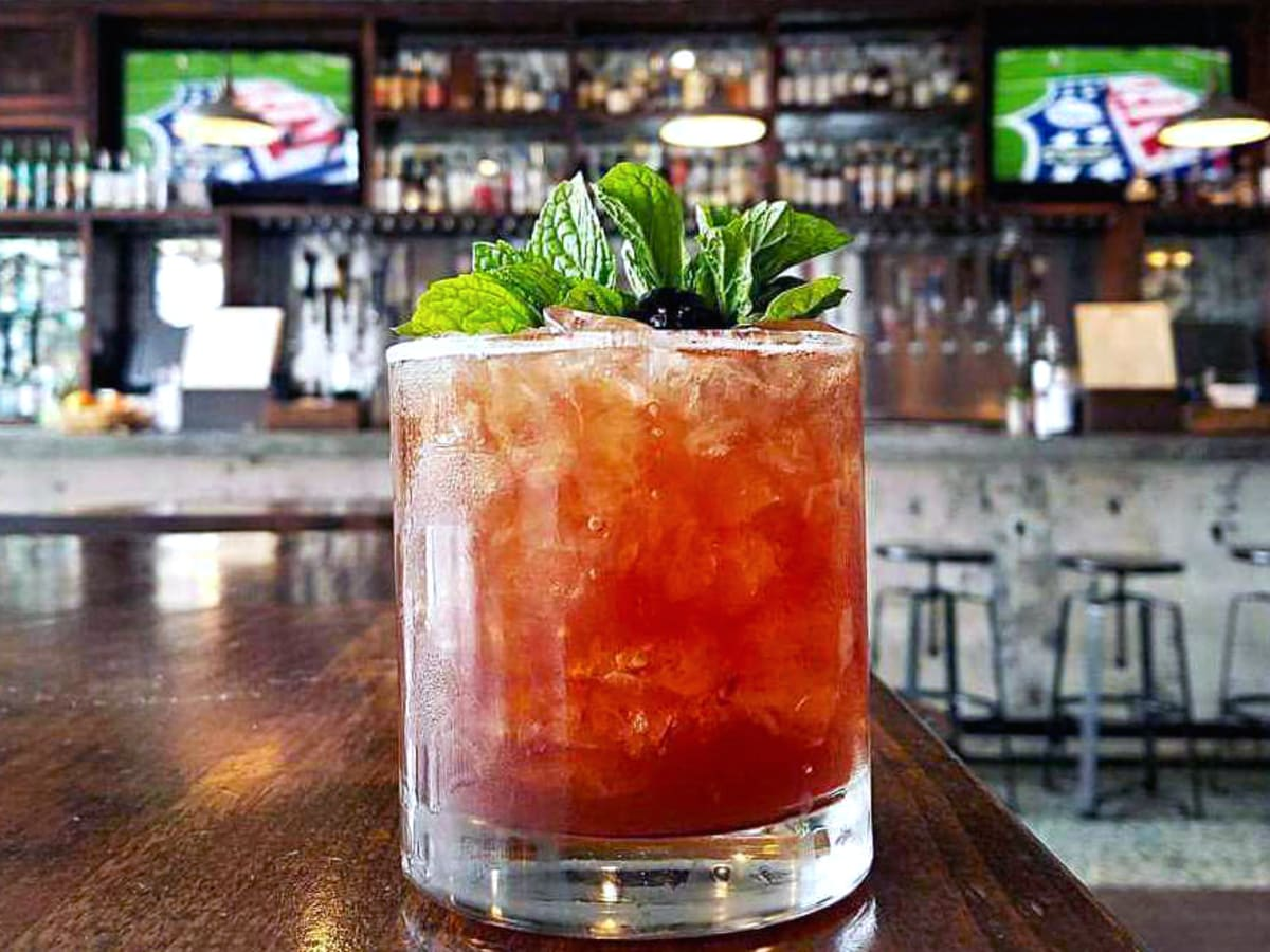 Houston, new happy hour deals, June 2017, Woosters Garden, friend zone cocktail