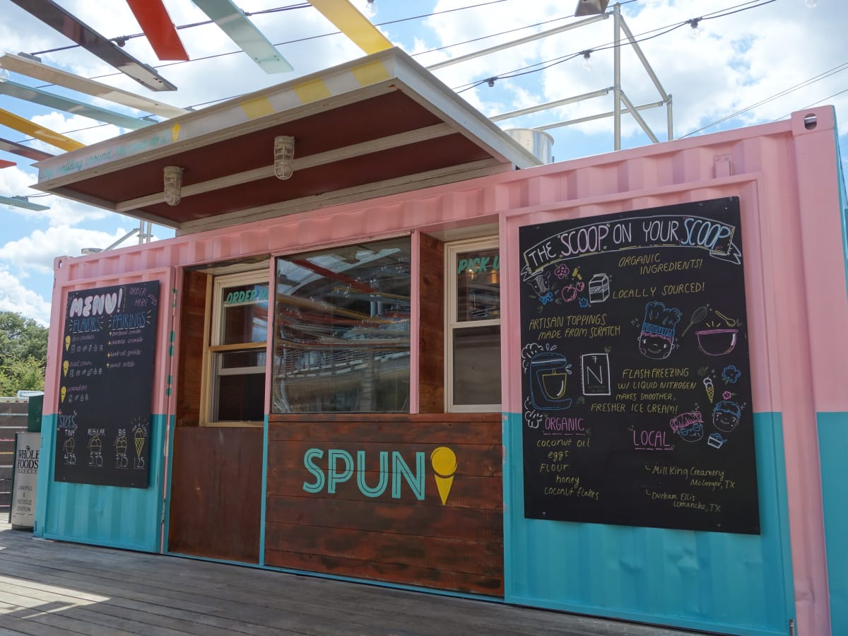 Spun Ice Cream Domain