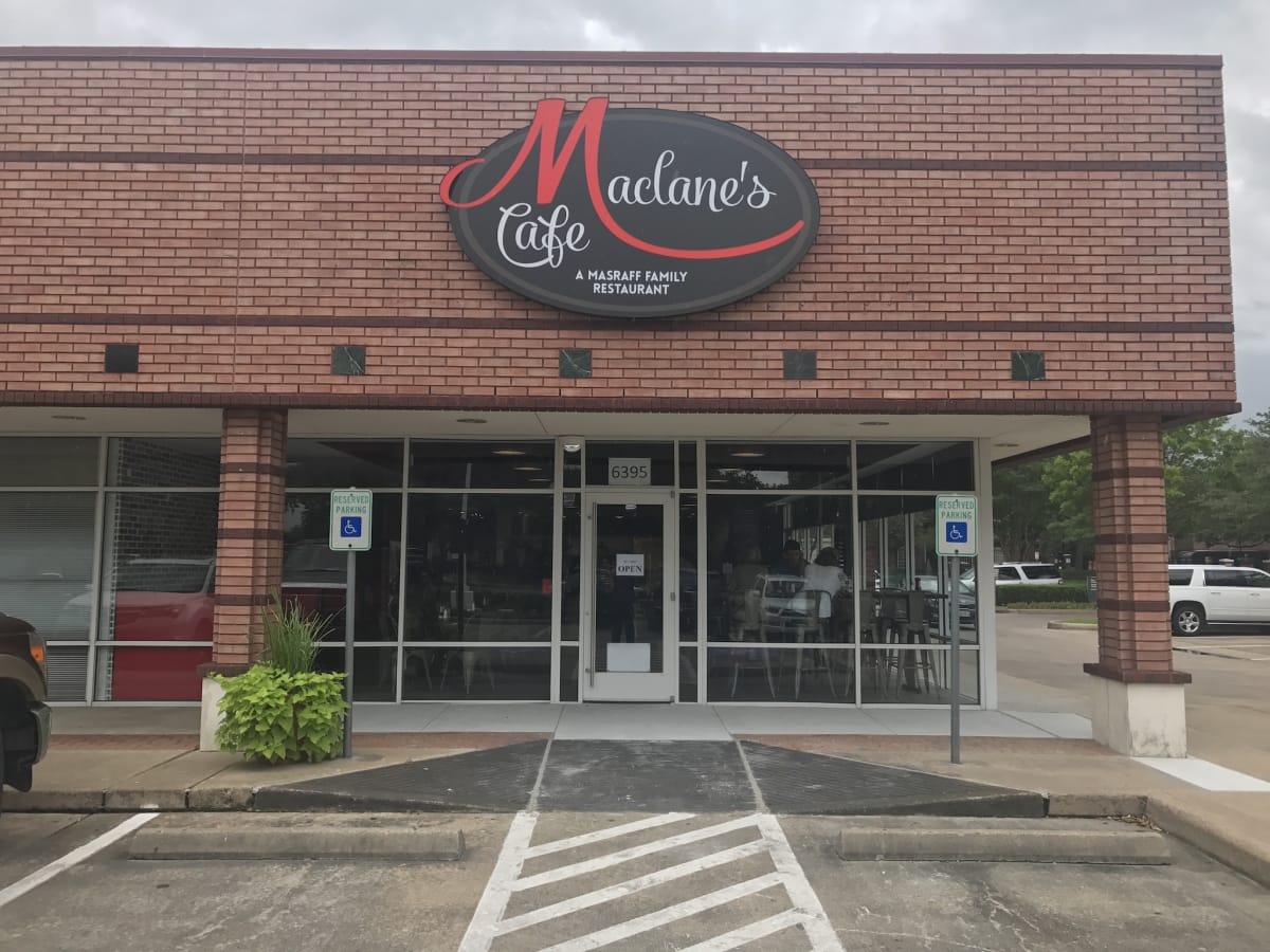 Maclane's Cafe exterior