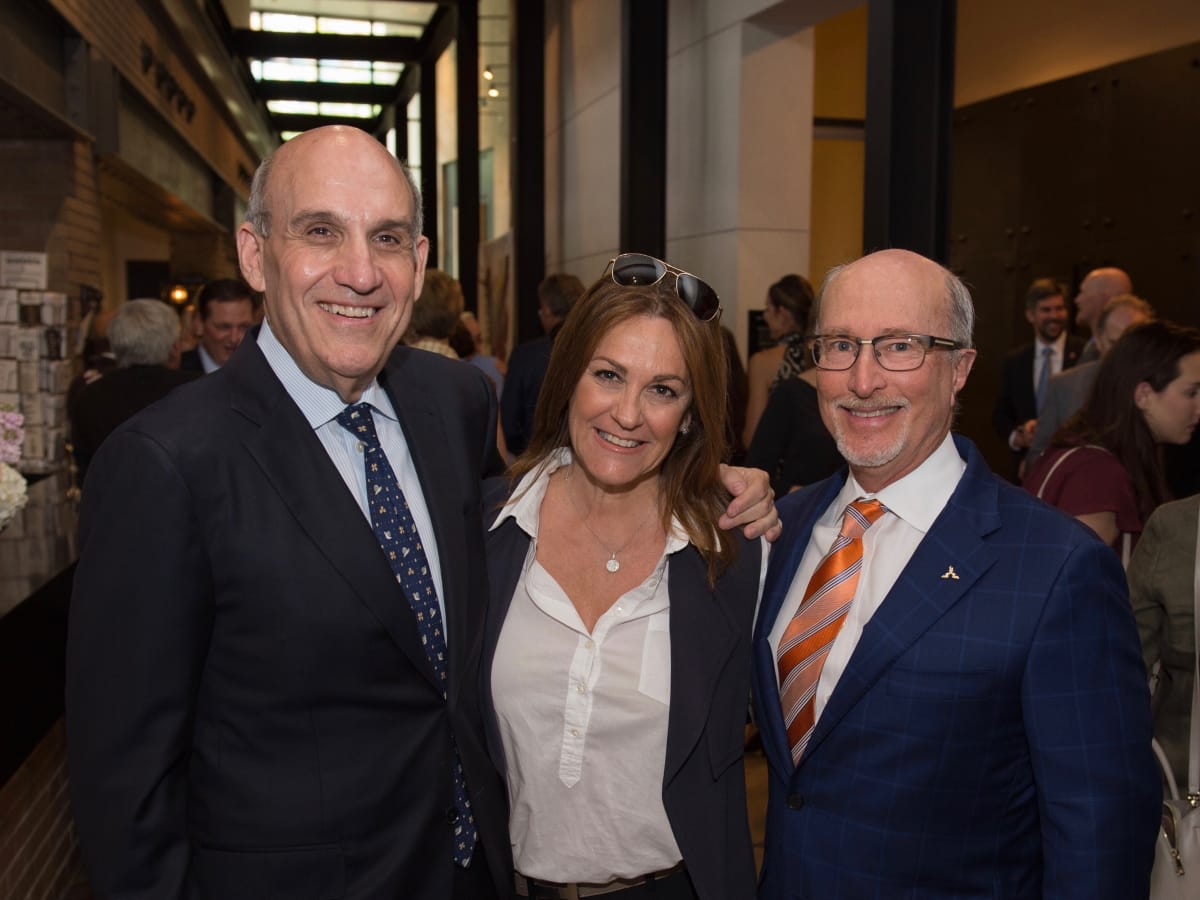 Holocaust Museum Houston Unveiling Event: Benjamin Warren, Tali Blumrosgn, Mark Mucasey