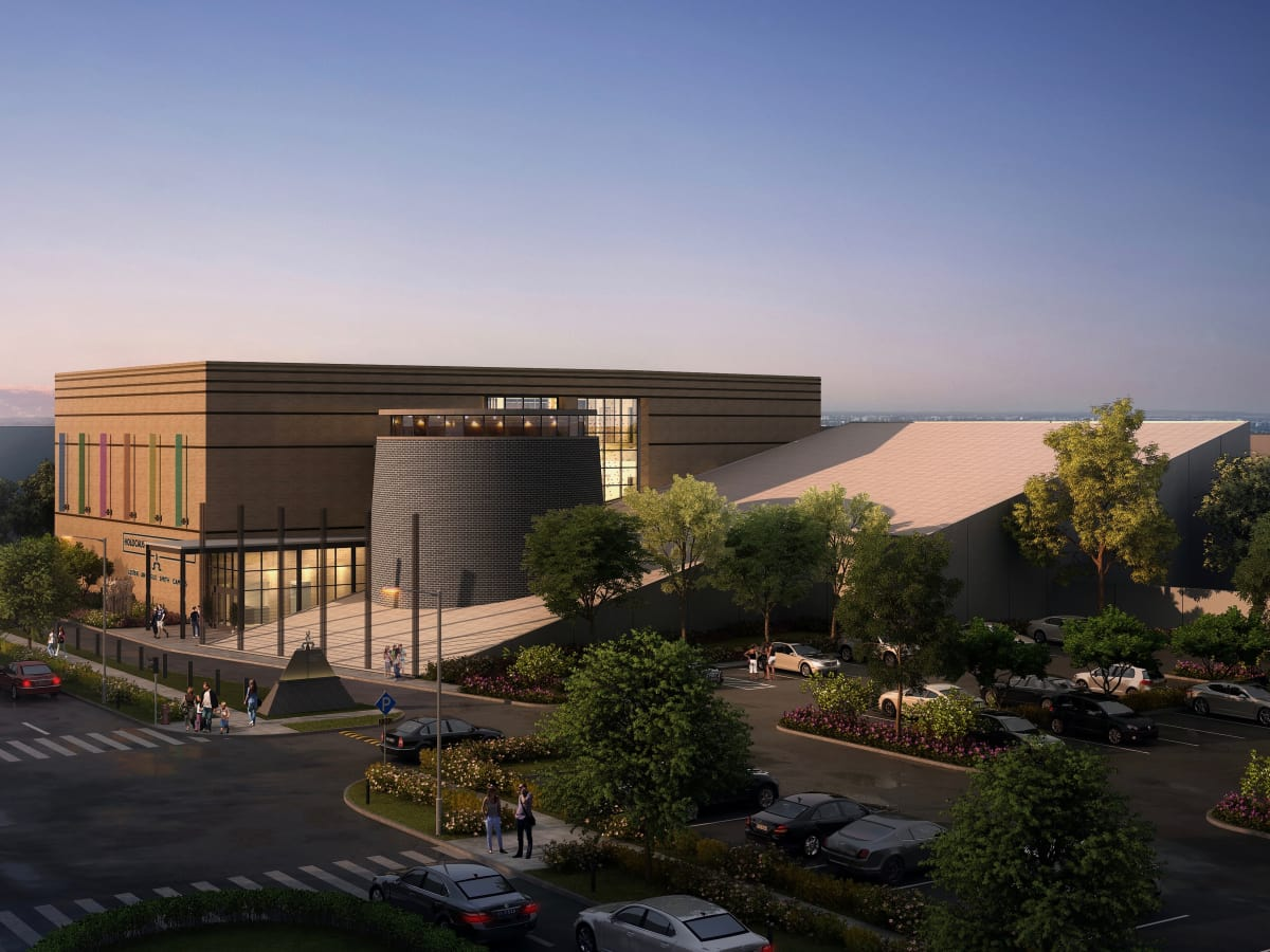 Holocaust Museum Houston Facility Rendering