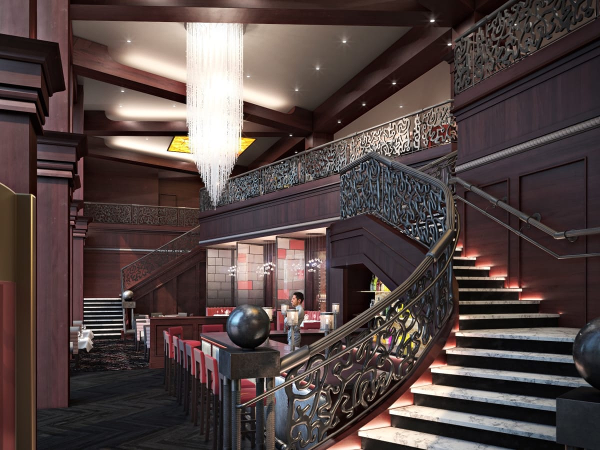 Del Frisco's Double Eagle Steakhouse remodeling rendering