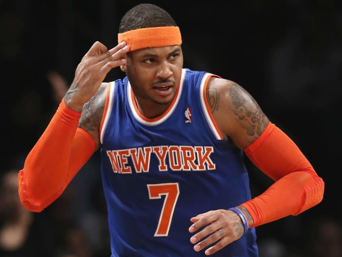 Carmelo Anthony think