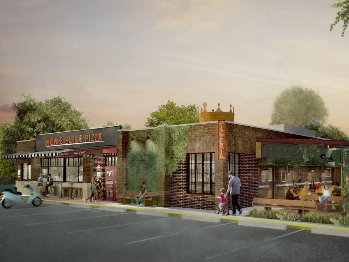 Home Slice Pizza North Loop rendering