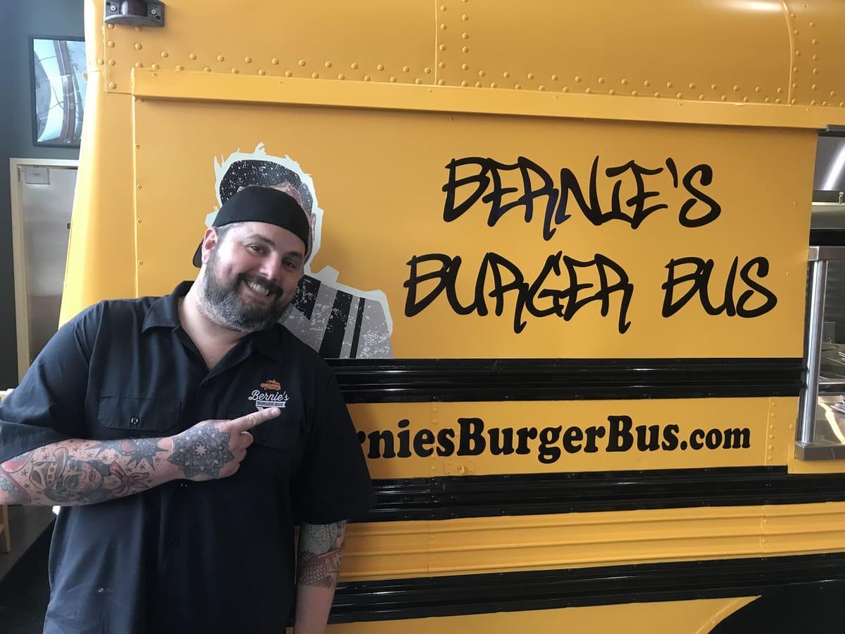 Bernie's Burger Bus Heights Justin Turner