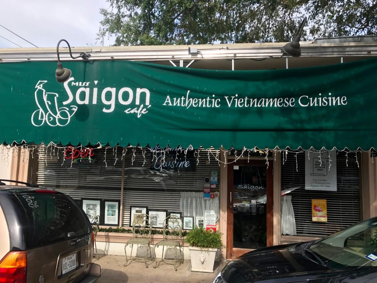 Miss Saigon Cafe Rice Village exterior