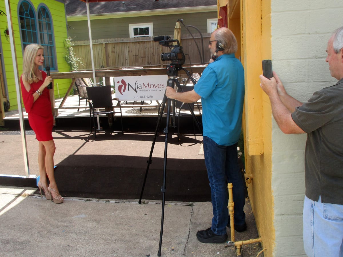 Houston, New TV station KVQT Channel, July 2017,  Shaune Stauffer
