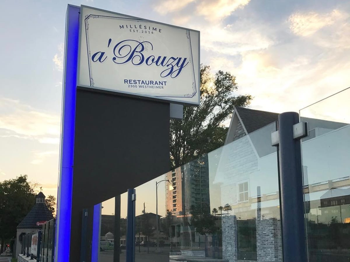 A'Bouzy sign