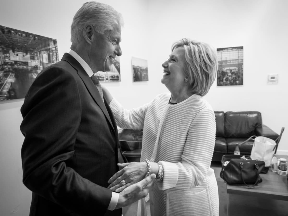 Hillary and Bill Are Taking Their Show on the Road