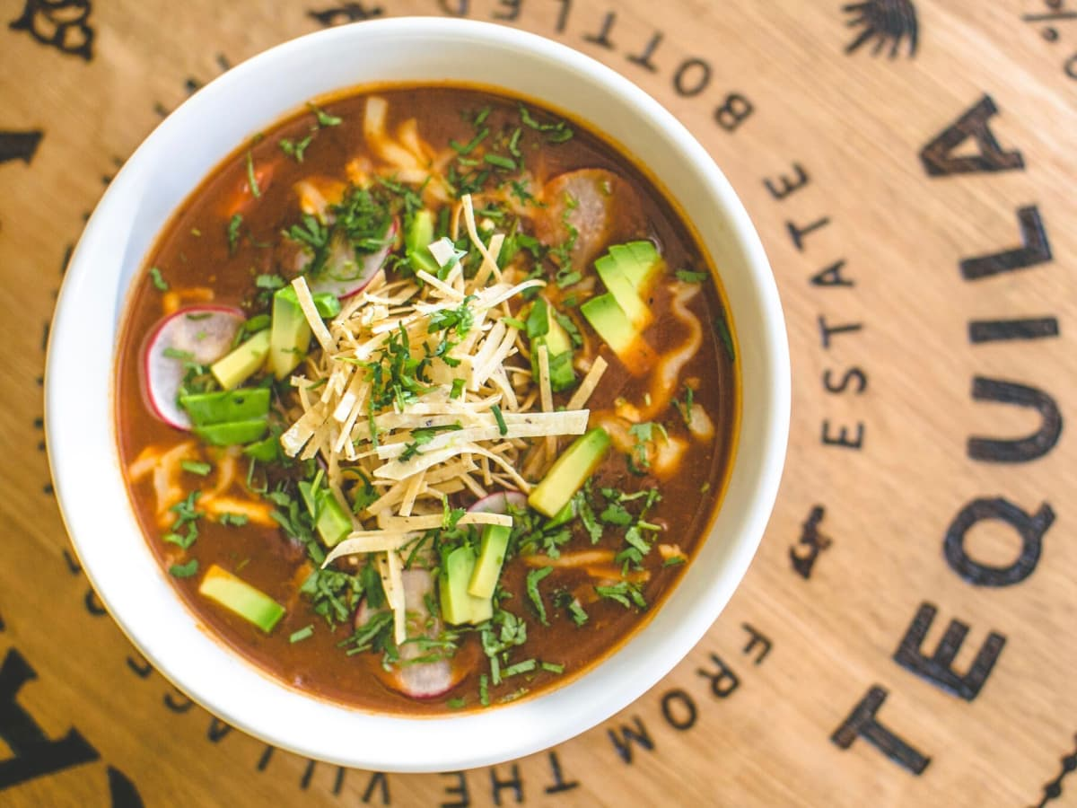 Superica tortilla soup