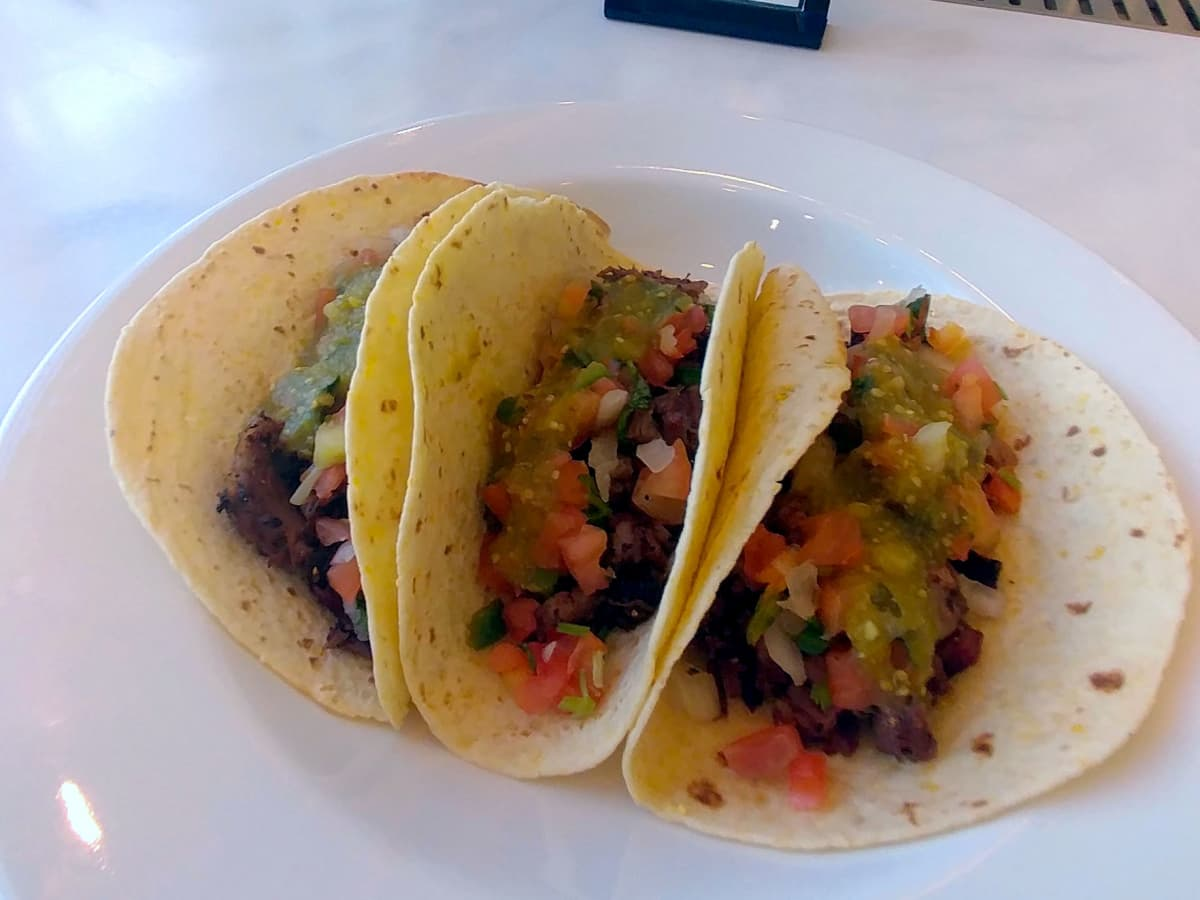 Houston, Texans whats new at NRG Stadium event, August 2017, tacos