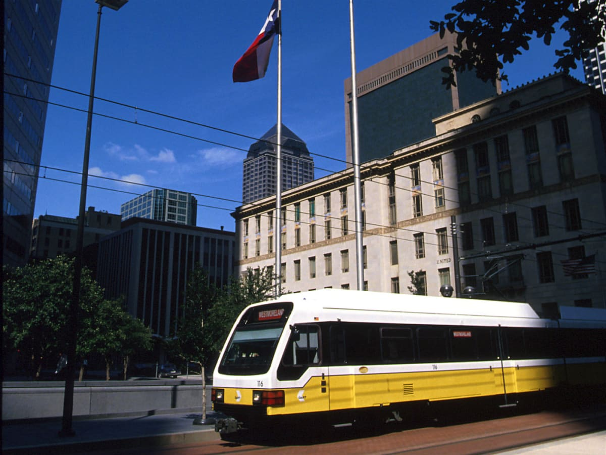 DART rail downtown Dallas