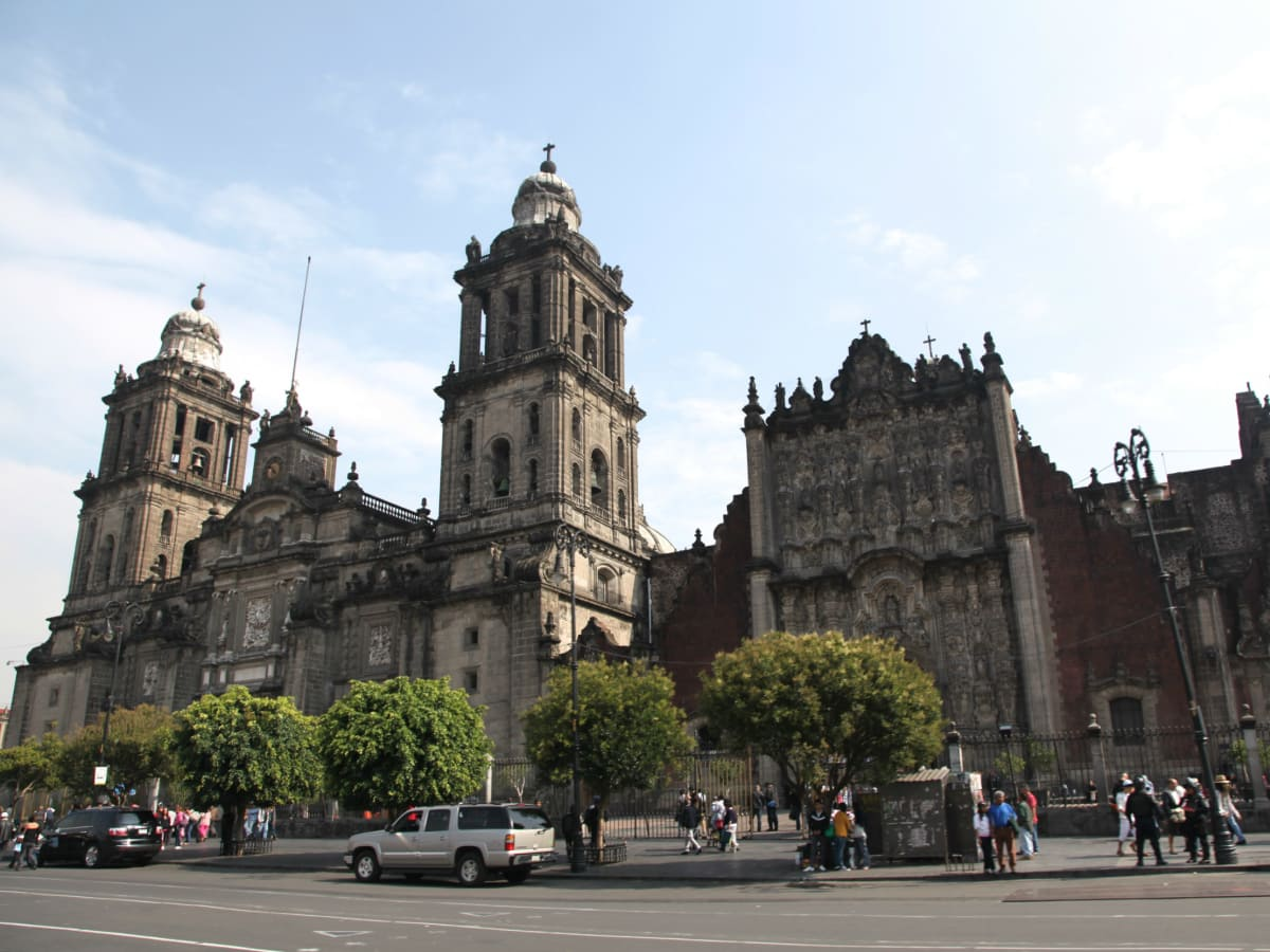 Catedral Metropolitana, Zocalo, Mexico City, July 2012