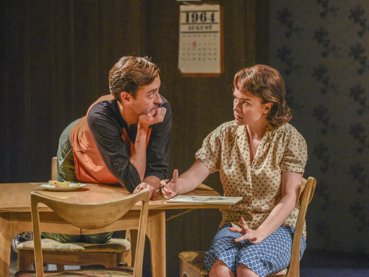 Dylan Godwin and Leah Karpel in Miller, Mississippi