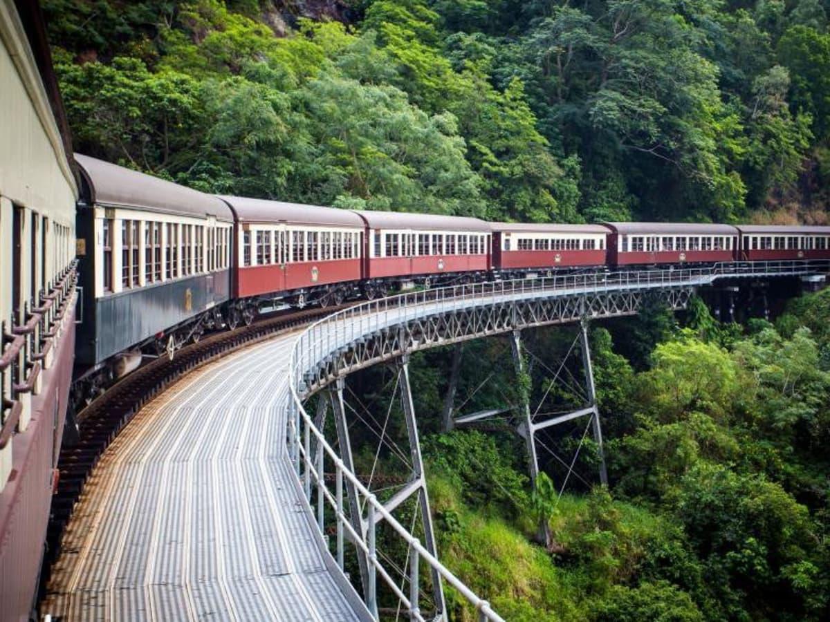 best fall travel destinations per National Geographic, September 2017, kuranda railway australia
