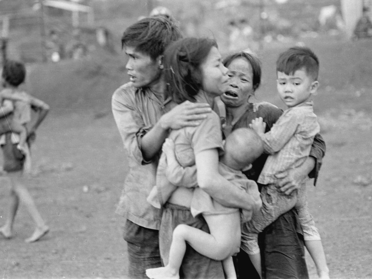 The Vietnam War, PBS series, family in peril