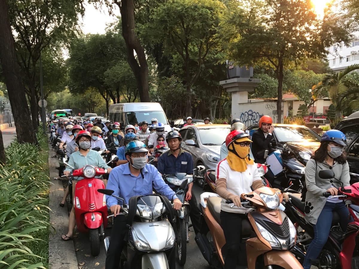 Saigon Stories: motorbikes