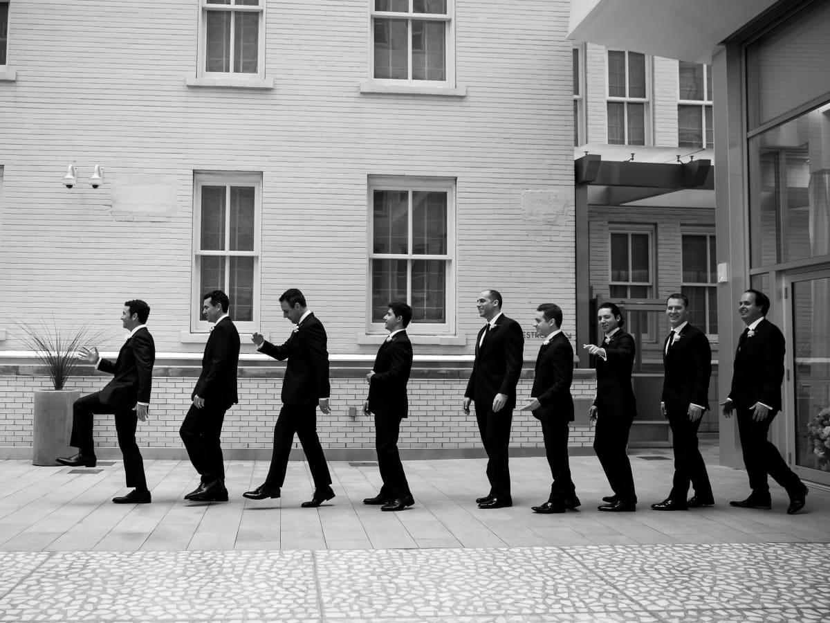 Aronson Wedding Groomsmen