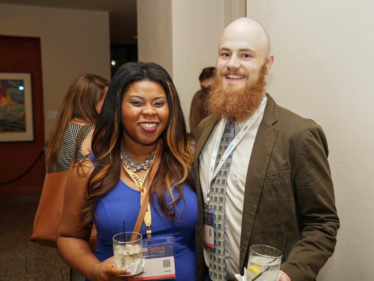 Texas Tribune Festival 2017 VIP Party at Harry Ranson Center Marissa Evans Sam Degrave