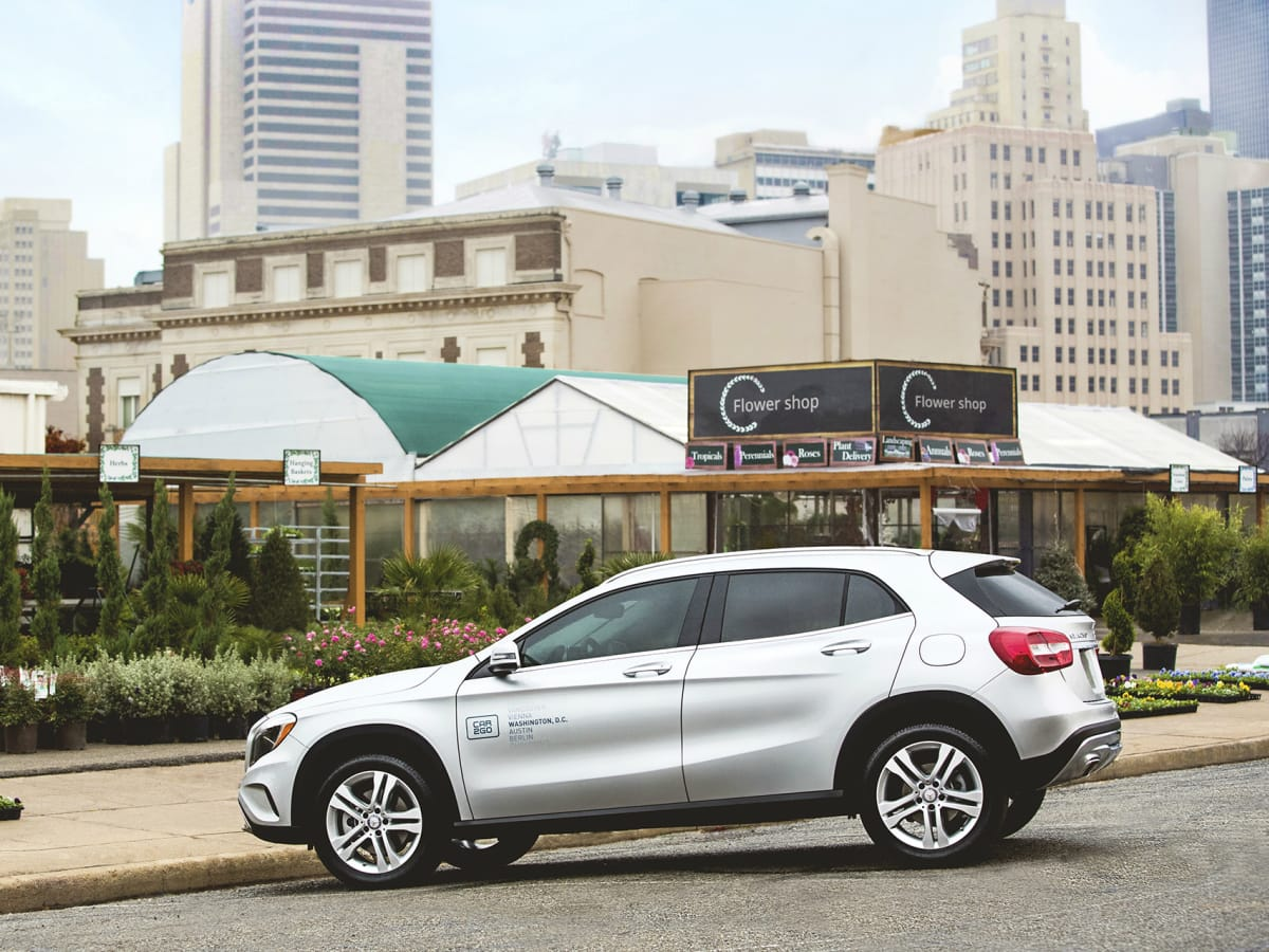 car2go Mercedes GLA