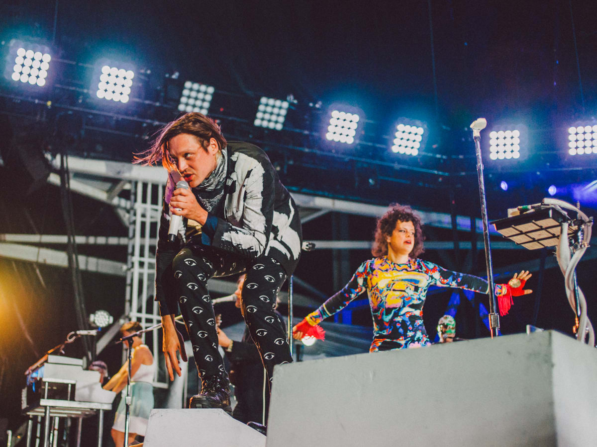 Arcade Fire at the Austin360 Ampitheatre in Austin