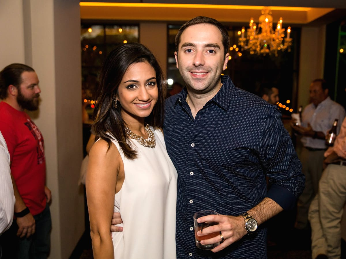 Houston, SportsMap launch party, October 2017, Rashi Vats, Daniel Gotera