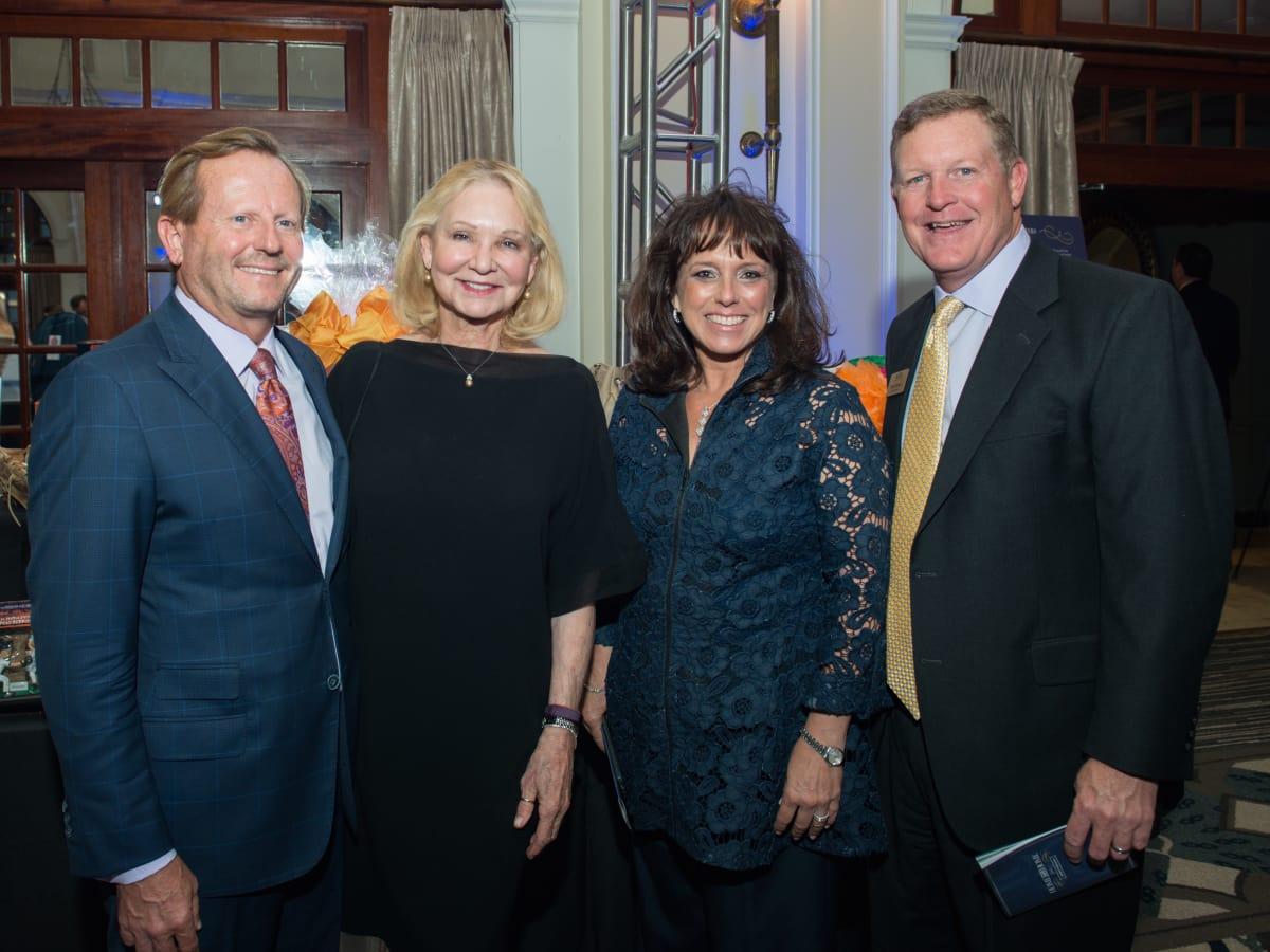 Mark and Sylvia Russell, Paula and Steve Winter at AVDA Gala
