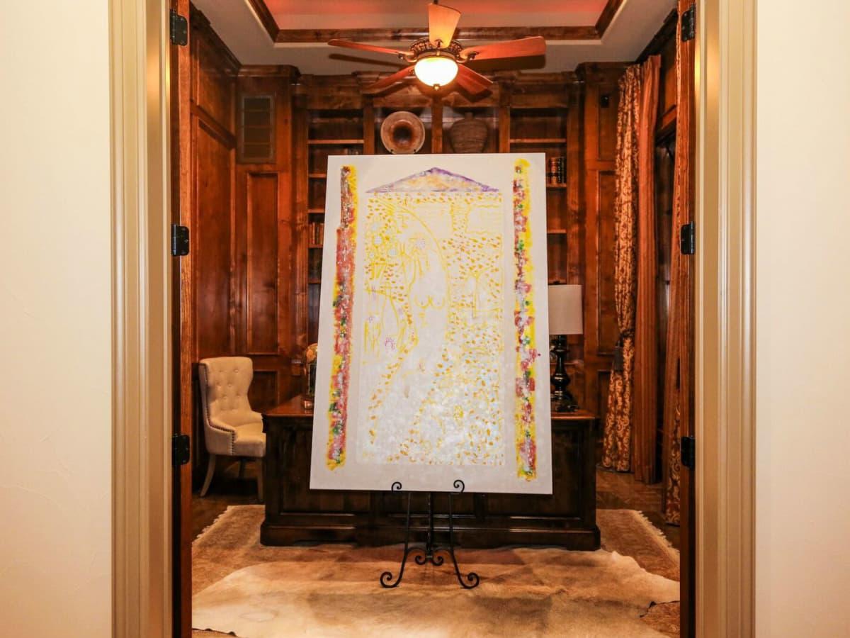 Howard Lamar photo collection event at 216 Brandon Way