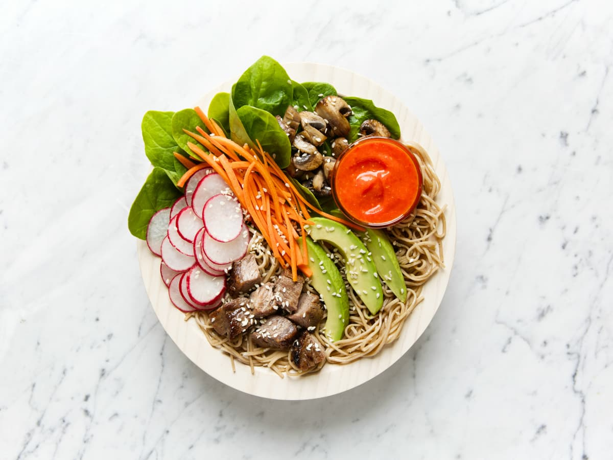 Honest Marys soba bowl