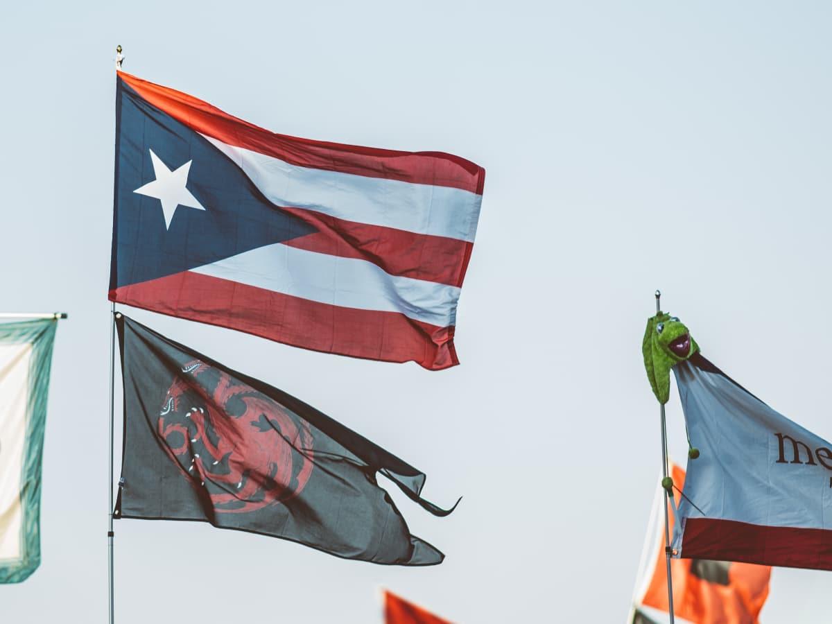 Austin City Limits Festival ACL Fest 2017 Weekend 1 Puerto Rico Flag