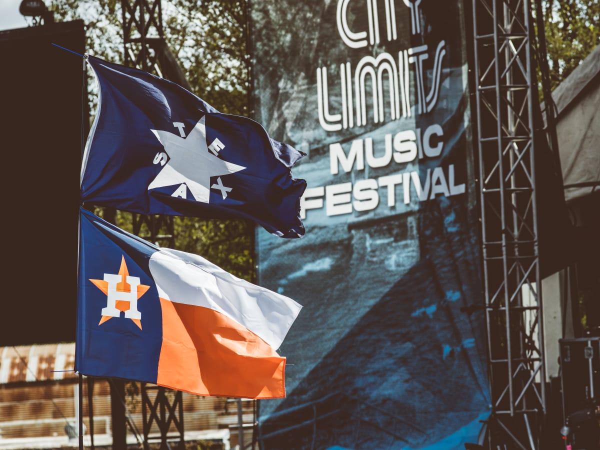 Austin City Limits Festival ACL Fest 2017 Weekend 1 Houston Astros Flags