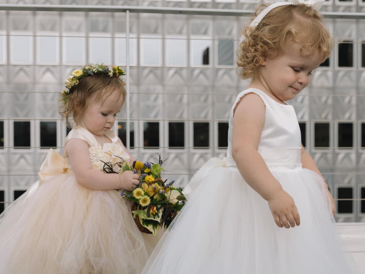 Collins Wedding, Flower Girls