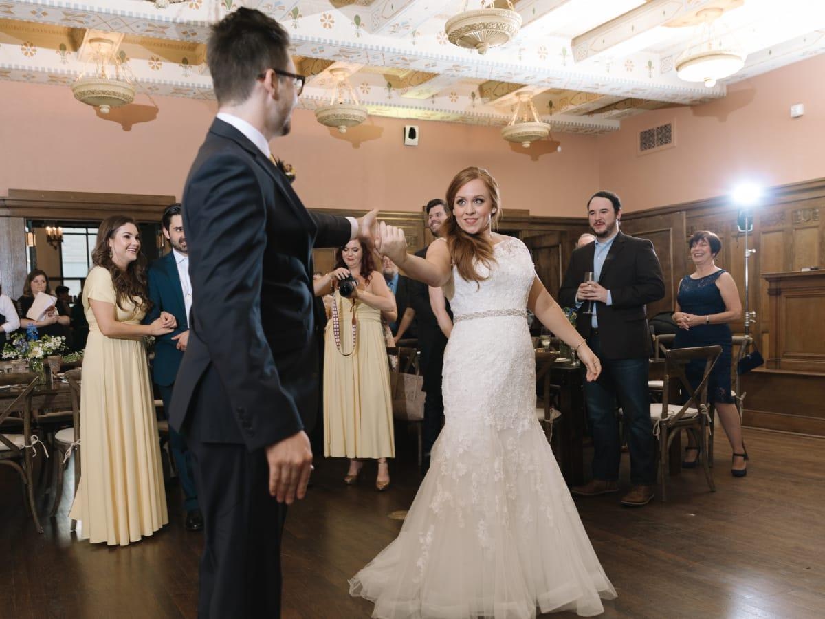 Collins Wedding, Dancefloor