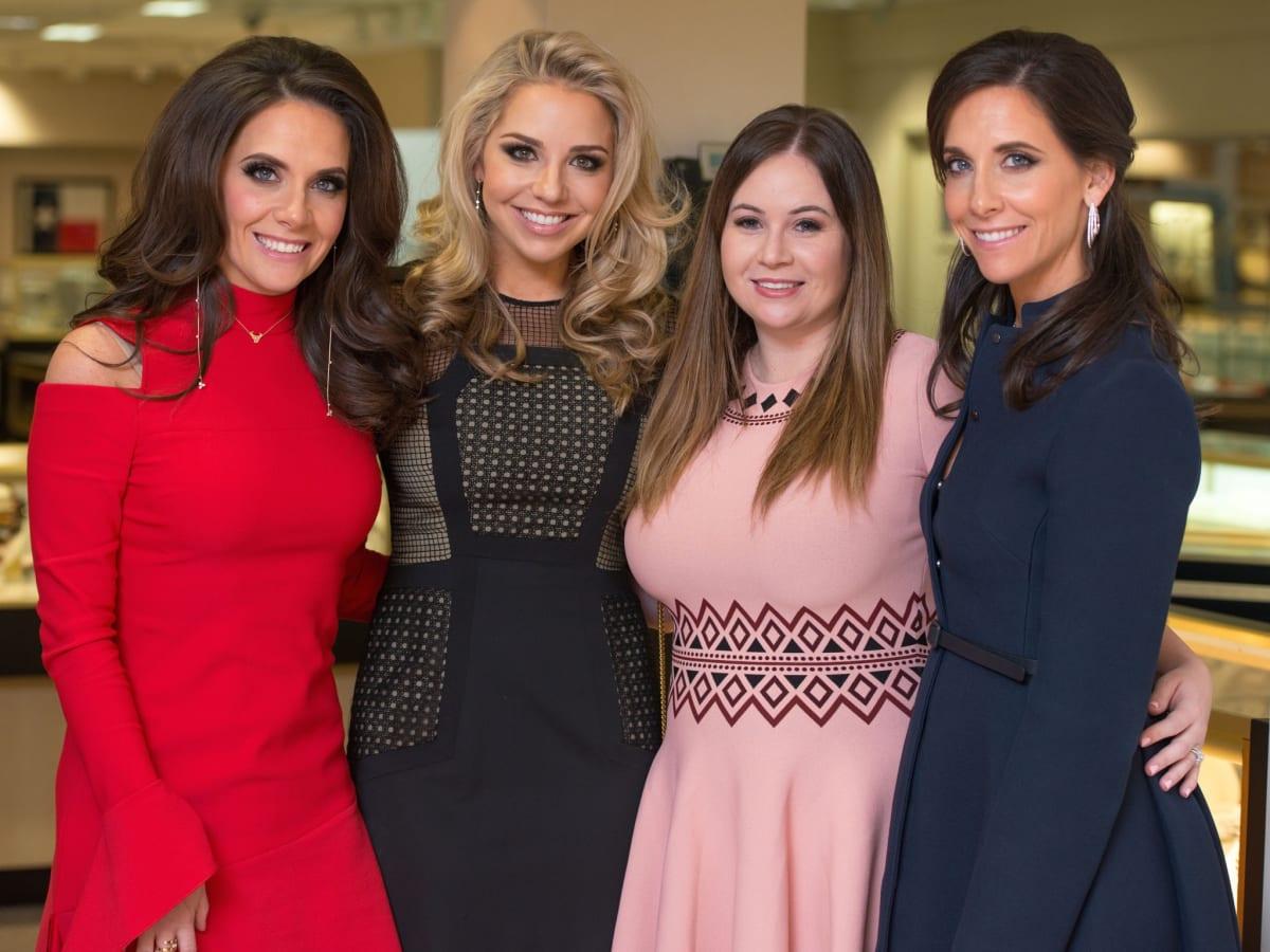 Joanna Marks, Bria Wall, Amanda Weeks, Hannah McNair at IW Marks Jewelers