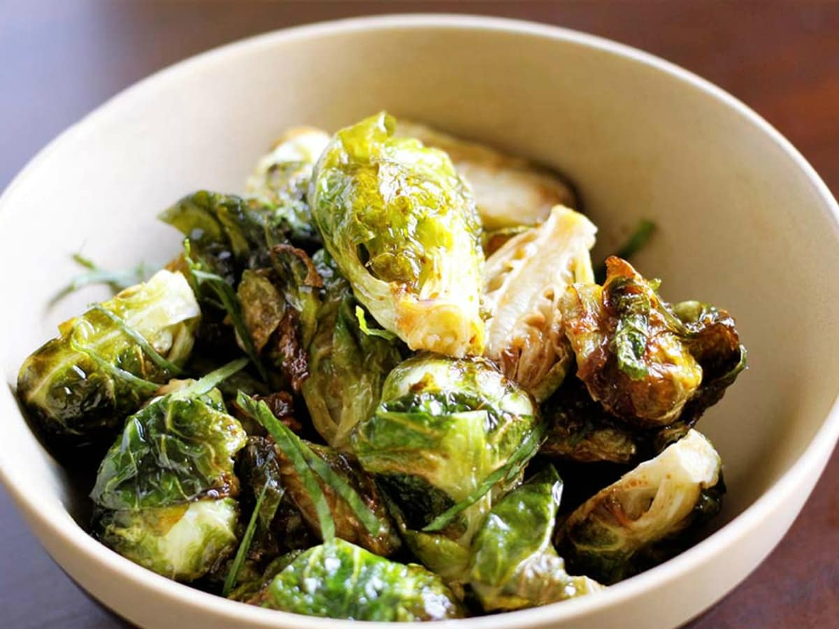 Krua Urban Thai brussels sprouts