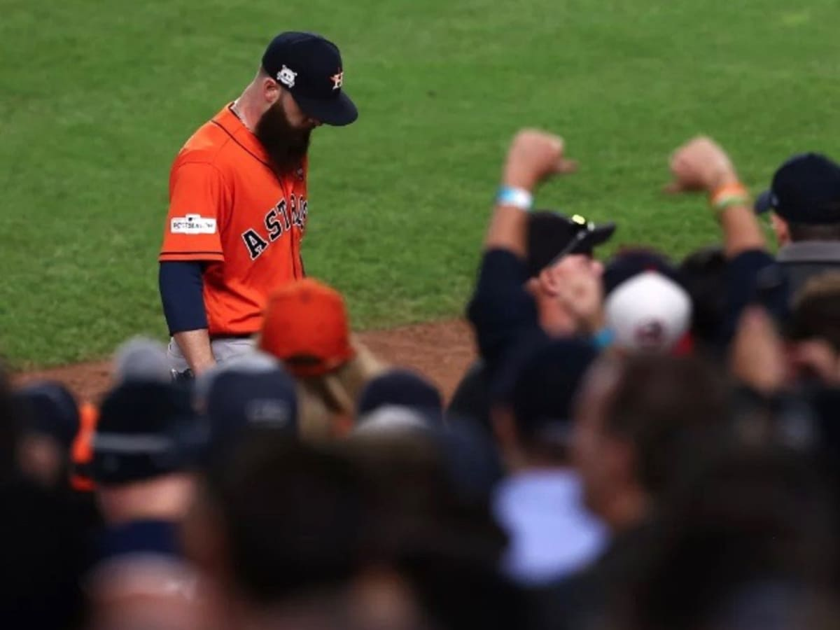 Astros pitcher Dallas Keuchel leaves game 5 of ALCS in loss to Yankees