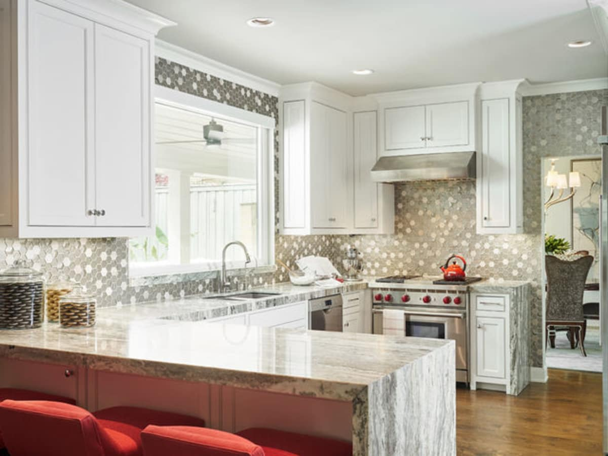 Houzz luxury estate remodel Dallas kitchen