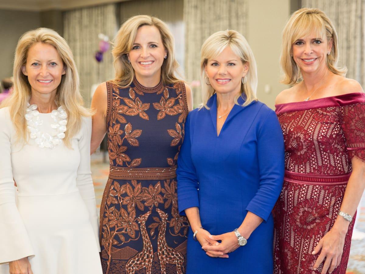 Lynn McBee, Kristen Sanger, Gretchen Carlson, Cindy Stager, Trailblazer luncheon