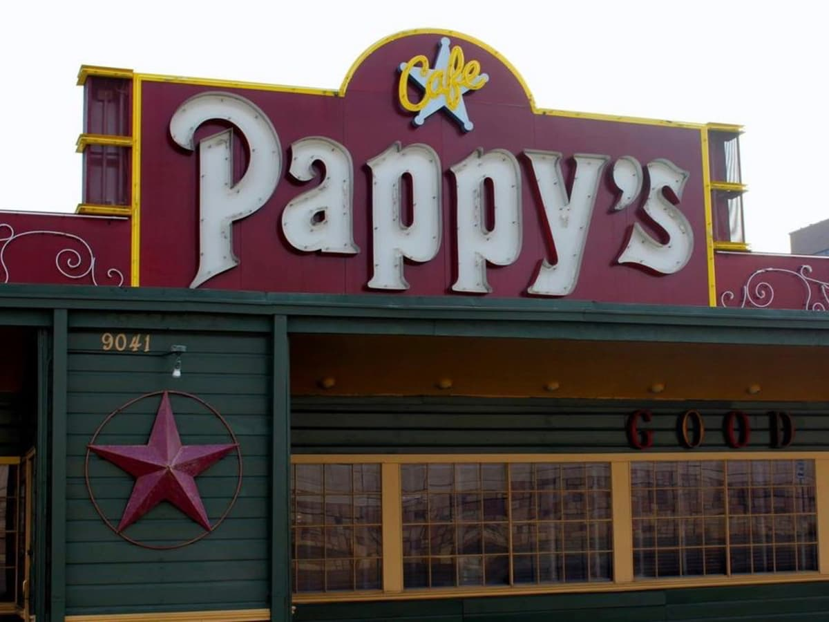 Pappy's Cafe exterior